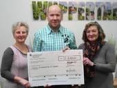 "Donation to ""Initiative für krebskranke Kinder Wuppertal e.V."" in 2017"