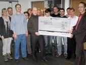 """Donation to """"Lichtblicke e.V"""" in 2012"""